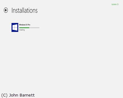 Upgrading to Windows 8 1 Via Windows Store