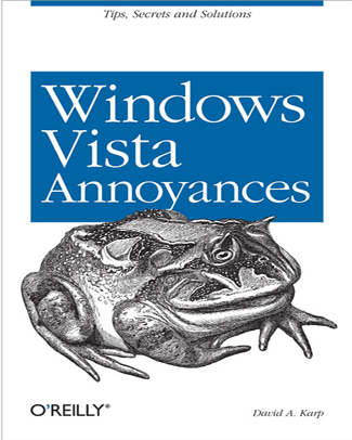 Windows Vista Annoyances Book Cover
