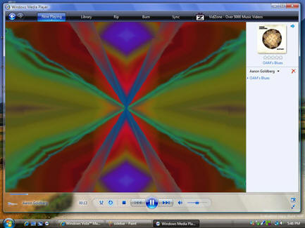 Fig 4: Windows media Player 11